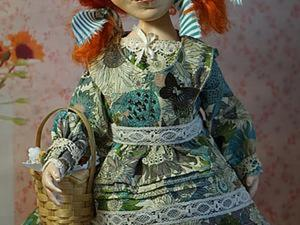 Шьем передник-пелерину для куколки. Ярмарка Мастеров - ручная работа, handmade.