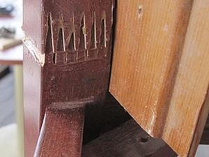 Необычный случай при  ремонте стула.. Ярмарка Мастеров - ручная работа, handmade.