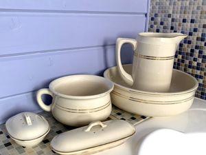 1920 год. Редкий туалетный набор от Villeroy&Boch. Ярмарка Мастеров - ручная работа, handmade.