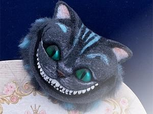 Создаем брошь «Чеширский кот». Ярмарка Мастеров - ручная работа, handmade.