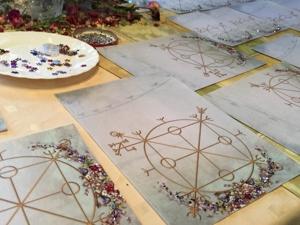 Подготовка к Летней Школе: вкладыши из ткани в Магическую Тетрадь. Ярмарка Мастеров - ручная работа, handmade.