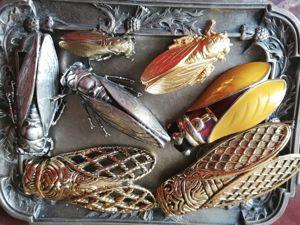 Мои любимые цикады!. Ярмарка Мастеров - ручная работа, handmade.