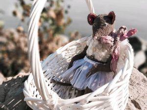 Мышь Тедди по Супер Цене  1850 р. Ярмарка Мастеров - ручная работа, handmade.