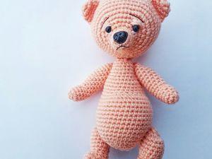 Crochet Teddy Bear. Livemaster - handmade
