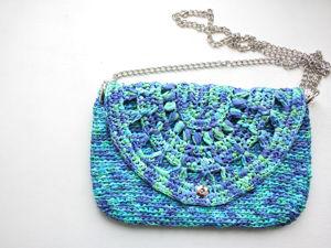 Raffia Bag: Sewing Lining, Setting Button. Livemaster - handmade