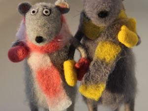 Подруга Зимнего Мыша!. Ярмарка Мастеров - ручная работа, handmade.