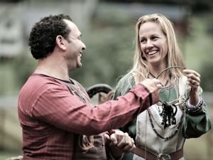 Art Wedding Photography by Paul Edmondson: Vikings Style. Livemaster - hecho a mano - handmade.