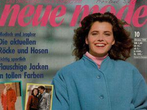 Neue mode 10 1989 (октябрь). Ярмарка Мастеров - ручная работа, handmade.