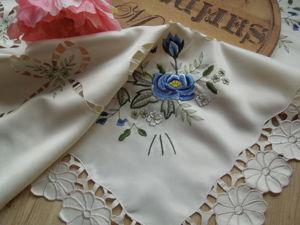 40-70% скидки на винтажный текстиль, скатерти и салфетки!. Ярмарка Мастеров - ручная работа, handmade.