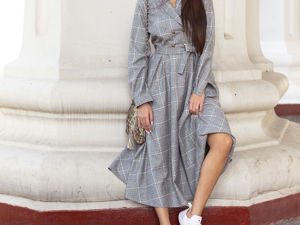 Шерстяное платье  «Оливия»  в наличии. Ярмарка Мастеров - ручная работа, handmade.