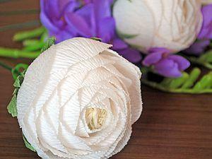 Создаем ранункулюсы для букета из конфет. Ярмарка Мастеров - ручная работа, handmade.