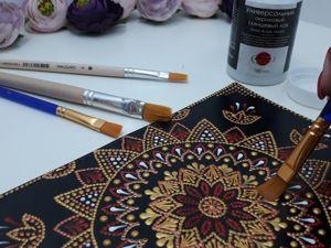 Каким лаком покрыть роспись. Ярмарка Мастеров - ручная работа, handmade.