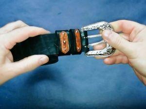 Женский кожаный ремень. Ярмарка Мастеров - ручная работа, handmade.