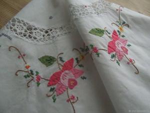 40-50% — распродажа винтажных скатертей и салфеток!. Ярмарка Мастеров - ручная работа, handmade.