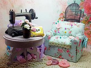 Создаем милый диванчик-игольницу. Ярмарка Мастеров - ручная работа, handmade.