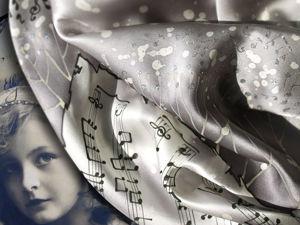 Мастер-класс по батику. Музыка серебряного века. Ярмарка Мастеров - ручная работа, handmade.