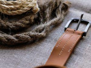 Как ухаживать за кожаным ремнем. Ярмарка Мастеров - ручная работа, handmade.