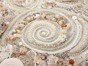 Вышивка нестандартными материалами. Ярмарка Мастеров - ручная работа, handmade.