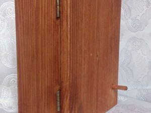 Как сделать простую ключницу своими руками. Ярмарка Мастеров - ручная работа, handmade.