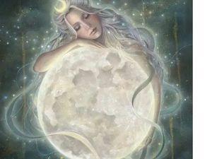 Селена — богиня Луны (Работа с потоком). Ярмарка Мастеров - ручная работа, handmade.