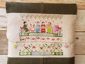 Как сшить сумку-конверт для вышивального проекта на куснапах. Ярмарка Мастеров - ручная работа, handmade.