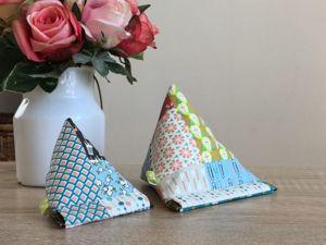 Как сшить кошелек-пирамидку с гибким замком. Ярмарка Мастеров - ручная работа, handmade.