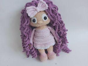 Делаем волосы для куклы. Ярмарка Мастеров - ручная работа, handmade.