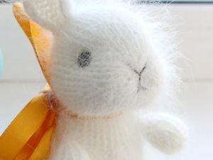Крольчонок Пух — скидка 25%. Ярмарка Мастеров - ручная работа, handmade.