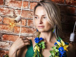 Фотосессия с комплектом  «Акварели весны». Ярмарка Мастеров - ручная работа, handmade.