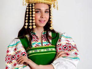 Кокошник  «Русь» . Ярмарка Мастеров - ручная работа, handmade.