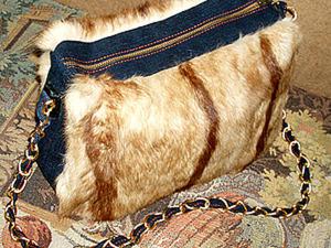 Как сшить сумку из меха. Ярмарка Мастеров - ручная работа, handmade.