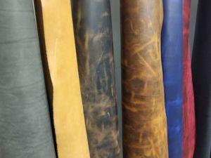 Новые виды кожи теперь доступны к заказу. Ярмарка Мастеров - ручная работа, handmade.