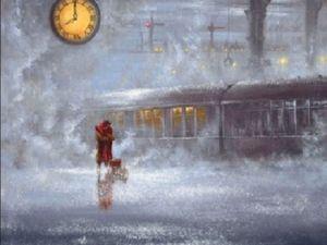 Истории из юности. Поезд вне расписания. Ярмарка Мастеров - ручная работа, handmade.