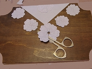 Имитация вышивки «ришелье». Ярмарка Мастеров - ручная работа, handmade.