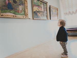 Как посещать музеи изобразительного искусства с детьми. Ярмарка Мастеров - ручная работа, handmade.