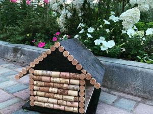 Мастерим кормушку для птиц. Ярмарка Мастеров - ручная работа, handmade.