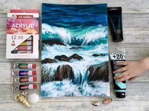 Тест акриловых красок Art Creation (студийная серия). Ярмарка Мастеров - ручная работа, handmade.