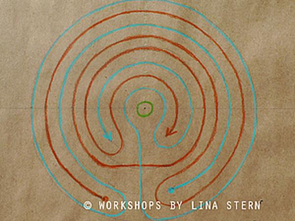 Как нарисовать семиповоротный лабиринт | Ярмарка Мастеров - ручная работа, handmade