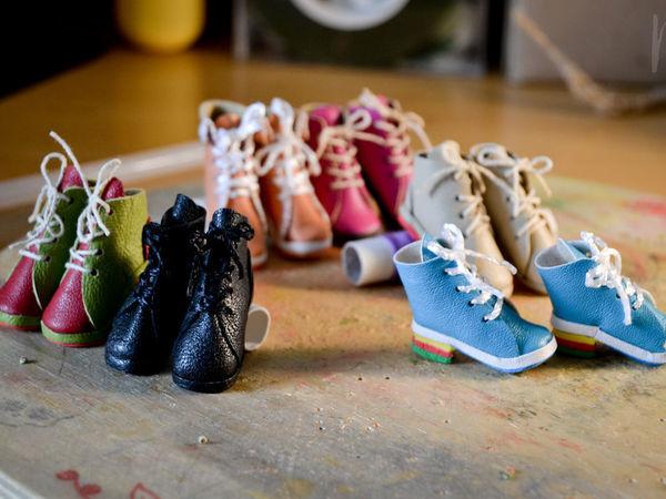 Мастер-класс: изготовление обуви для куколок   Ярмарка Мастеров - ручная работа, handmade
