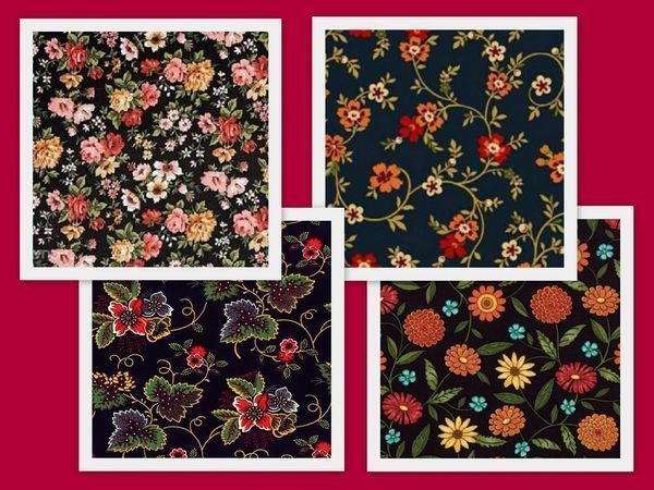 «Тысяча цветов» — супертренд! Немного из истории принта | Ярмарка Мастеров - ручная работа, handmade