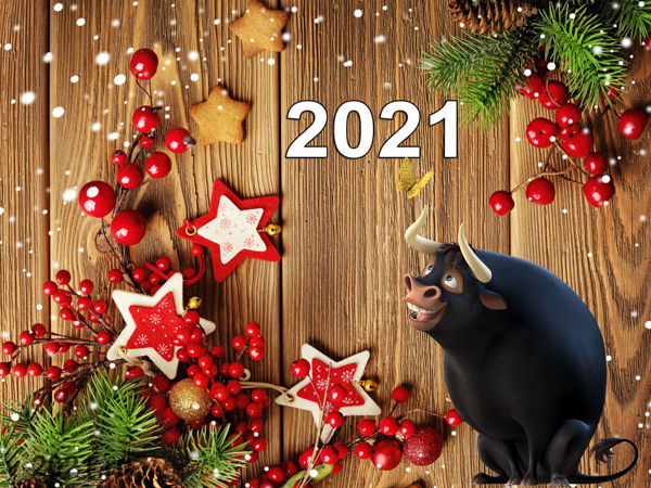 Новый 2021 год   Ярмарка Мастеров - ручная работа, handmade