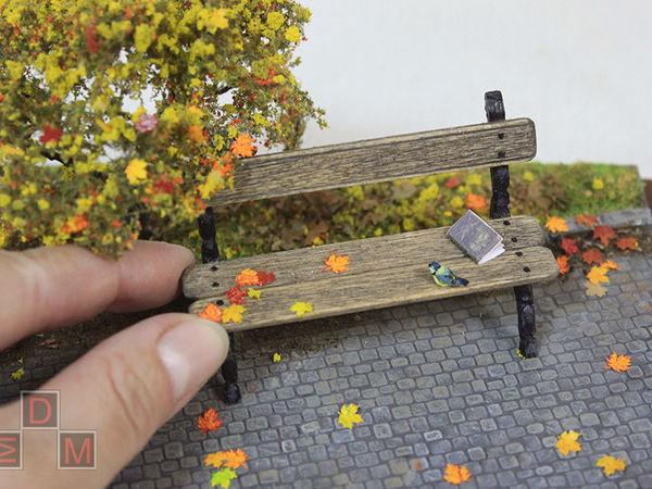 Миниатюра ручной работы «Осень» проект «Времена года». | Ярмарка Мастеров - ручная работа, handmade
