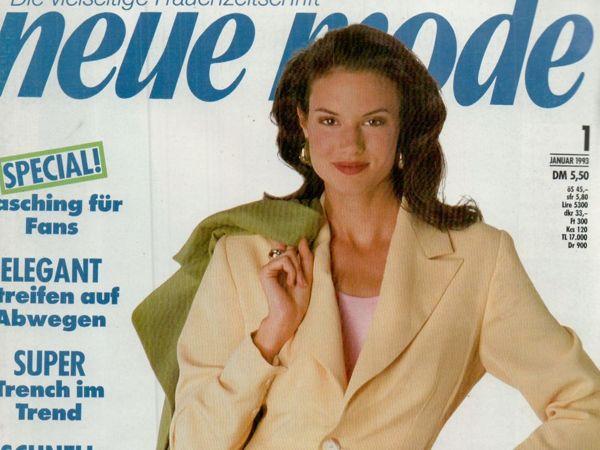 Neue mode 1 1993 (январь) | Ярмарка Мастеров - ручная работа, handmade