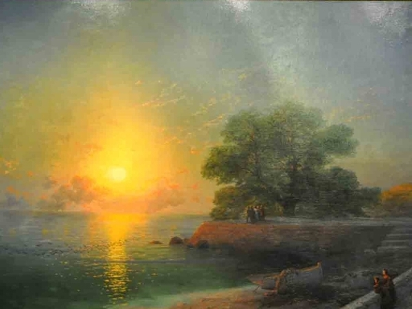 Unique Exhibition of Paintings by Aivazovsky | Livemaster - handmade