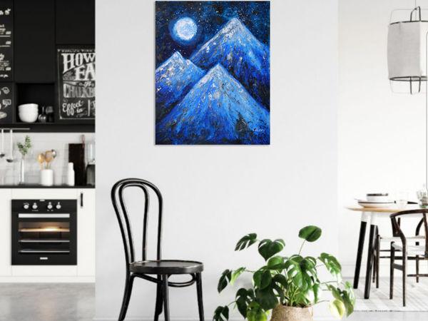 Обзор картины Горы | Ярмарка Мастеров - ручная работа, handmade