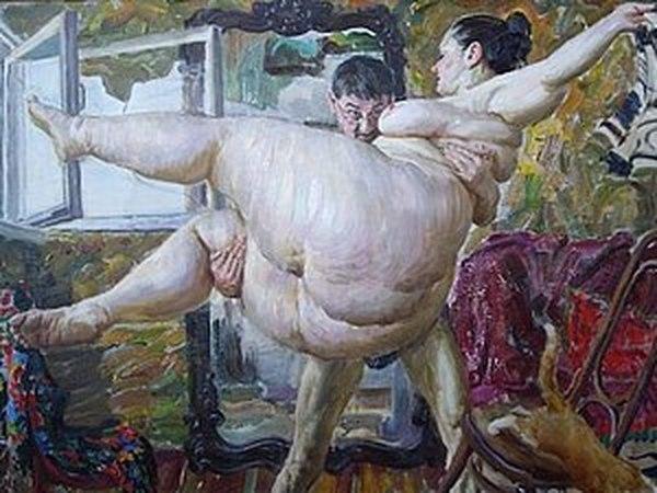 Картины Виктора Ляпкало- нестандартное ню! 18+ | Ярмарка Мастеров - ручная работа, handmade
