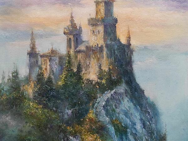 Мастер-класс по масляной живописи  «Замок» | Ярмарка Мастеров - ручная работа, handmade