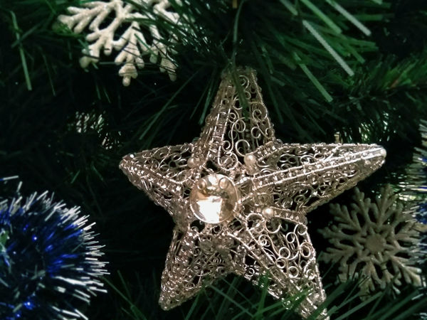 Let's Make a Twisted Wire Ice Star   Livemaster - handmade
