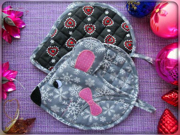 Мастер-класс по шитью прихватки-мышки | Ярмарка Мастеров - ручная работа, handmade