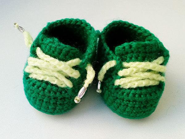 Вяжем ботиночки для куклы | Ярмарка Мастеров - ручная работа, handmade